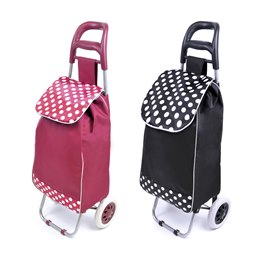 BB0066A 1/2 and 1/2 SPOT SHOPPING TROLLEY
