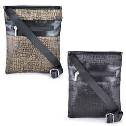 BB0731 LADIES ANIMAL JAQARD MESSENGER BAG