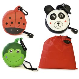 BB0840 CHILDRENS CHARACTER PUMP BAG