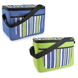 BB0914 STRIPE PRINT FAMILY COOL BAG