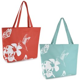 BB0981 600D HUMMINGBIRD PRINTED BAG