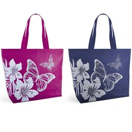 BB1029 BUTTERFLY 600D PRINT BAG