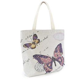 BB1031 BUTTERFLY TAPESTERY BAG (NE30)