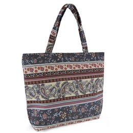 BB1032 AZTEC STRIPE  TAPESTRY BAG