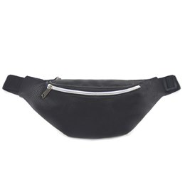 BB1135 BLACK PU BUM BAG