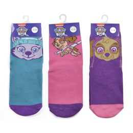 CM0407 DISNEY SOCKS - GIRLS PAW PATROL