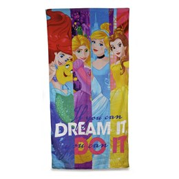 CM0607 DISNEY TOWEL - PRINCESS