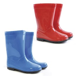 FT0545 Kids Plain PVC wellington 5-9