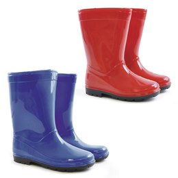 FT0546 Kids plain PVC wellington 10-2