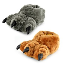 FT0561 MONSTER FEET KIDS SLIPPERS