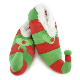 FT0690 KIDS NOVELTY XMAS ELF SLIPPER