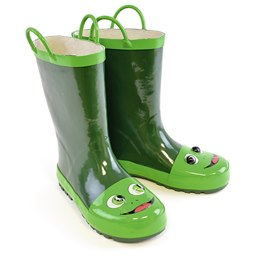 FT0851 3D KIDS FROG WELLIE