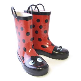 FT0853 3D KIDS LADYBIRD WELLIE