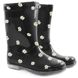 FT0930 KIDS DAISY  PVC WELLINGTON 10-2