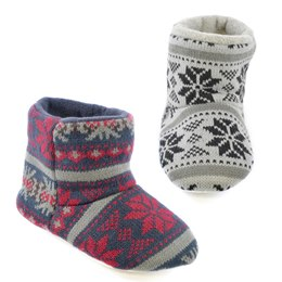 FT1073 BOYS SNOWFLAKE BOOTEE