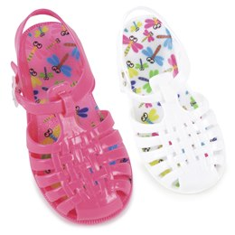 FT1131 KIDS CLOSED JELLY SANDALS