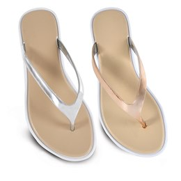 FT1292 LADIES METALLIC  SANDAL