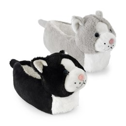 FT1331 GIRLS CAT HEAD SLIPPER