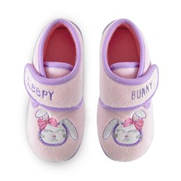 FT1385 YOUNG KIDS SLEEPING BUNNY SLIPPERS