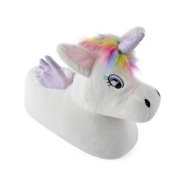 FT1386 GIRLS UNICORN  SLIPPERS
