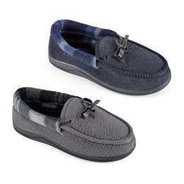 FT1391 BOYS MOCCASIN WITH LEATHER BOW