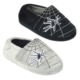 FT1532 BOYS SPIDER WEB SLIPPER