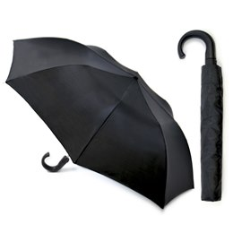 UU0007 MEN'S AUTO FOLDING UMBRELLA IN BLACK