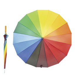 UU0064 RAINBOW GOLF UMBRELLA