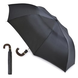 UU0098A MEN'S AUTO FOLDING UMBRELLA IN BLACK