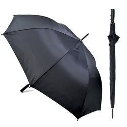 UU0256BK 190T GOLF UMBRELLA IN BLACK