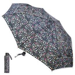 KS Brands UU0187 Ladies Penny Spot Assorted Colours 3 Section Supermini Umbrella