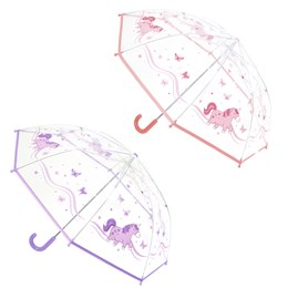 UU0337 UNICORN GIRL UMBRELLA