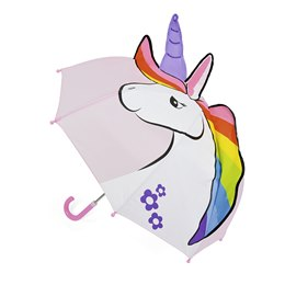 UU0338 UNICORN 3D KIDS DOME UMBRELLA